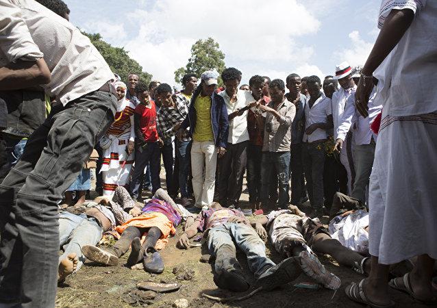 Mais de 100 mortos durante protesto em Bishoftu, na Etiópia