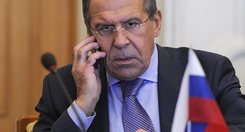 Ministro das Relações Exteriores da Rússia Sergey Lavrov