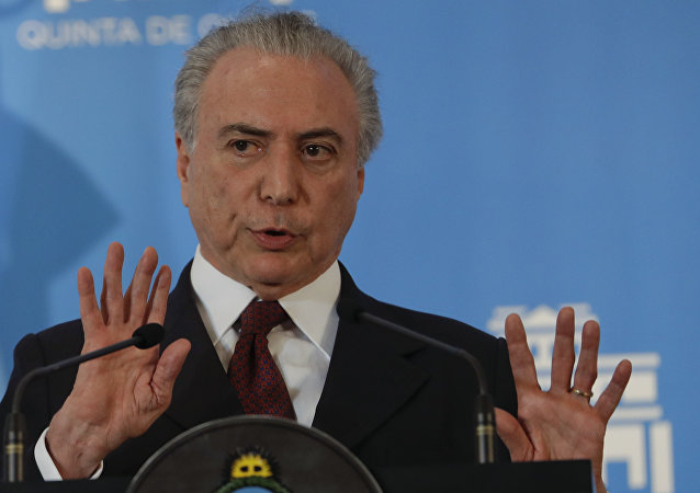 Presidente Michel Temer em visita à Argentina