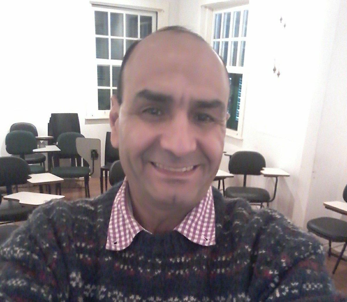 Ahmad Serieh, arqueólogo sírio que vive há oito anos no Brasil