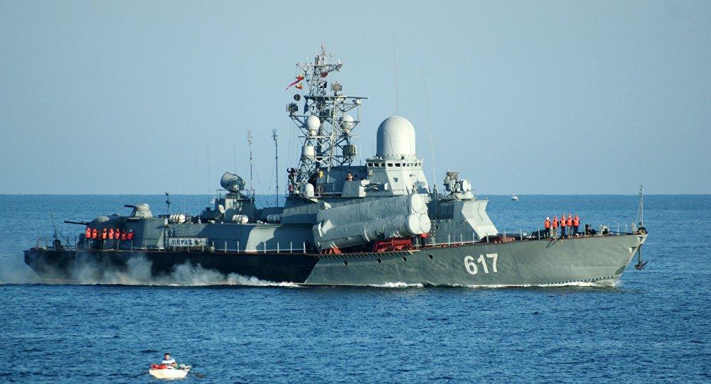 Rússia envia terceiro navio para o litoral da Síria