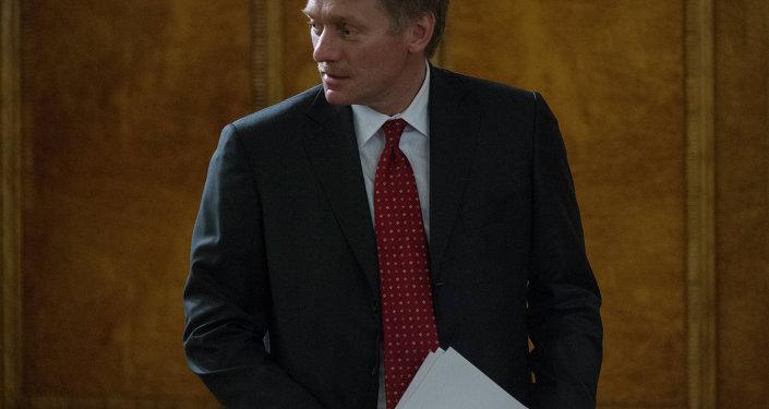 Porta-voz do presidente russo, Dmitry Peskov