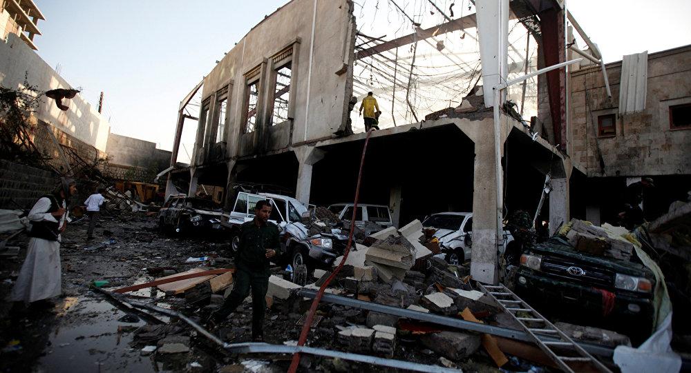 Bombardeio ocorreu em velório do pai do ministro do Interior iemenita