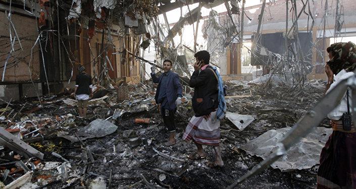 Consequências do ataque em Sanaa, Iêmen, 8 de outubro de 2016