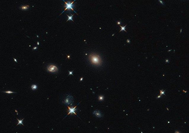 A imagem do Hubble mostra a galáxia SDP.81 (imagem referencial)