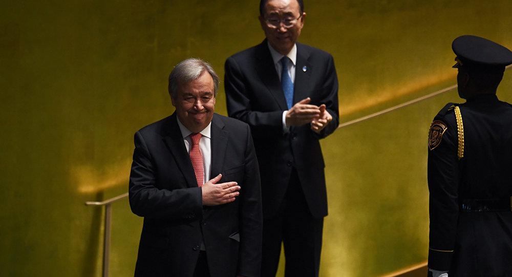"""""""Vou inspirar Rússia e EUA a se aproximarem"""" – António Guterres"""
