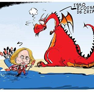 A presidenciável e o dragão