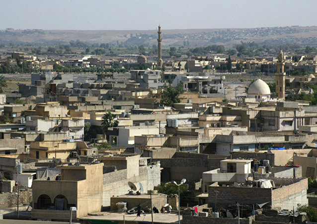 Vista pela cidade de Mossul, Iraque (foto de arquivo)