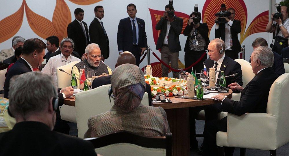 Cúpula dos BRICS em Goa, 16 de outubro