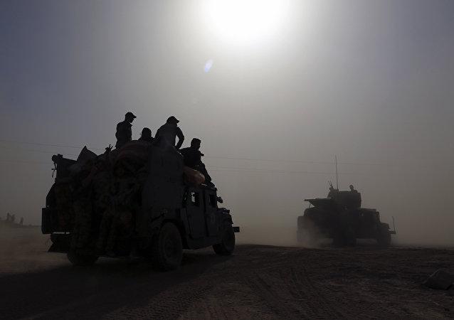 Em 15 de outubro, forças antiterroristas de elite do Iraque já tinham se mobilizado para se preparar para a operação de libertação de Mossul