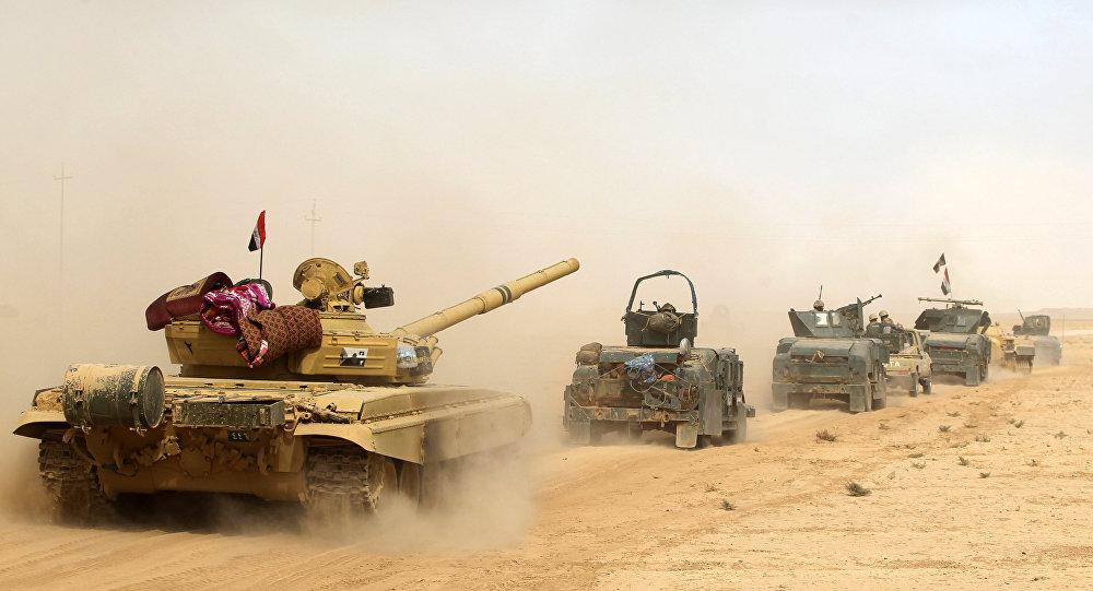 Forças iraquianas (foto de arquivo)