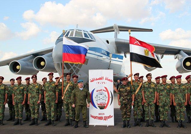 Exercícios militares antiterroristas conjuntos da Rússia e Egito, Defensores da Amizade 2016