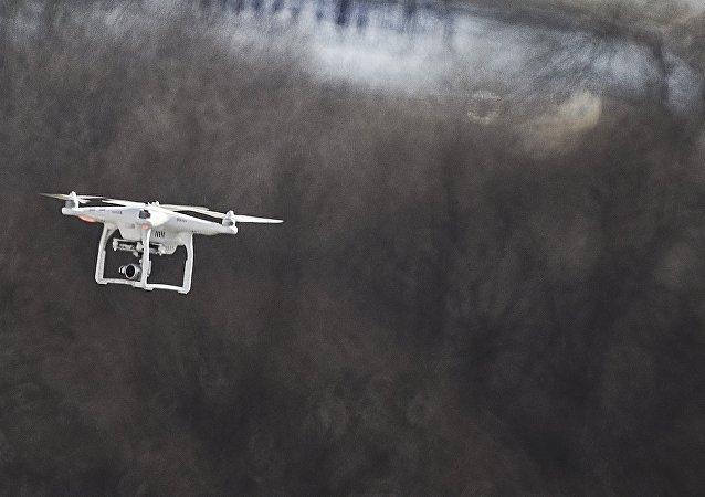Drone em Moscou (foto de arquivo)