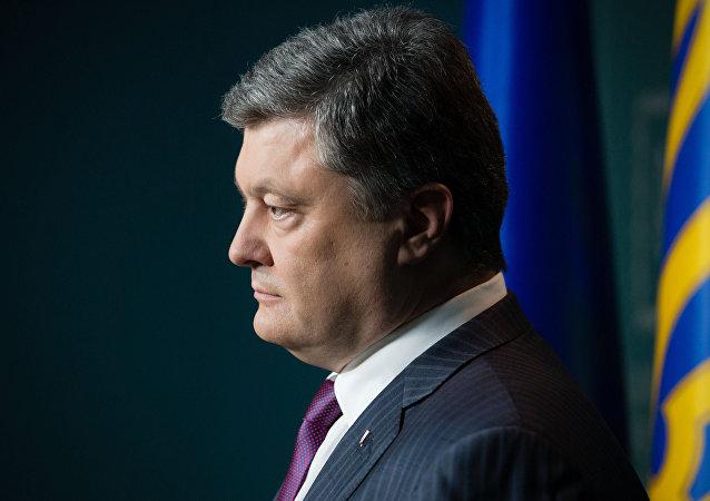 Pyotr Poroshenko, presidente da Ucrânia (foto de arquivo)