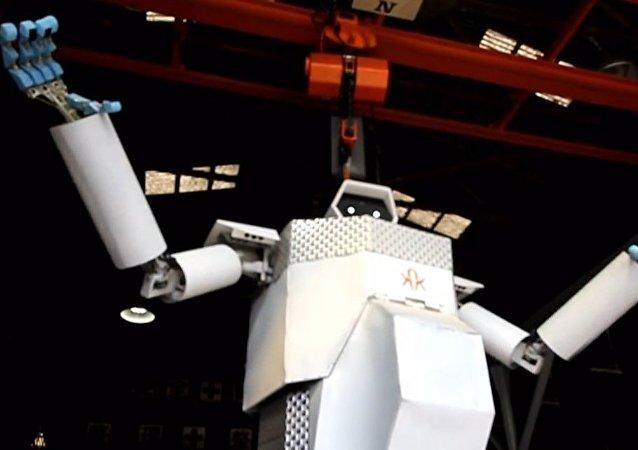 Robô gigantesco apresentado no Japão