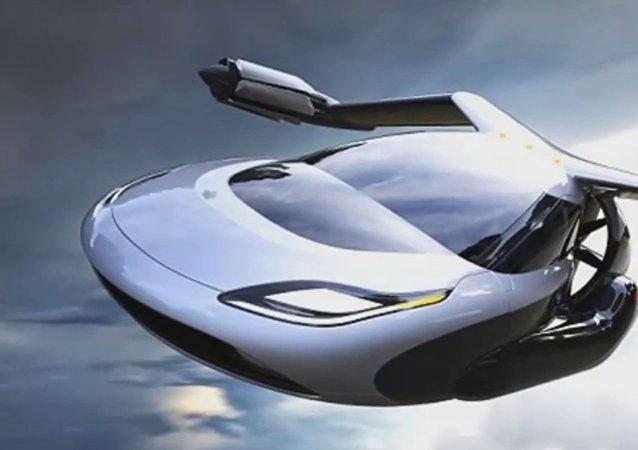 Modelo de carro voador