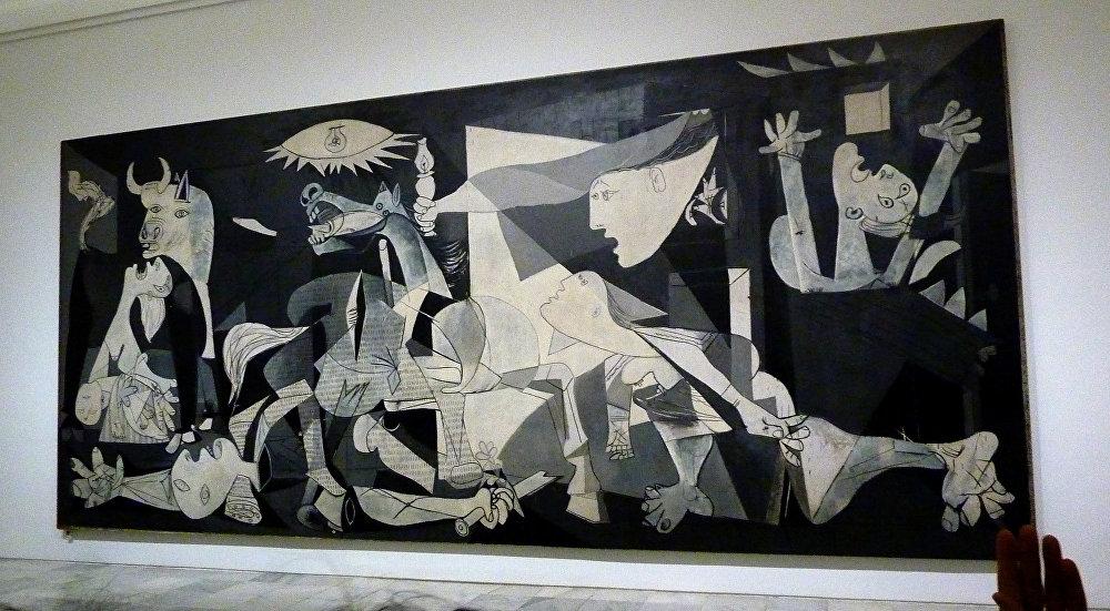 Guernica (1937), Museu Nacional Centro de Arte Reina Sofia, em Madrid
