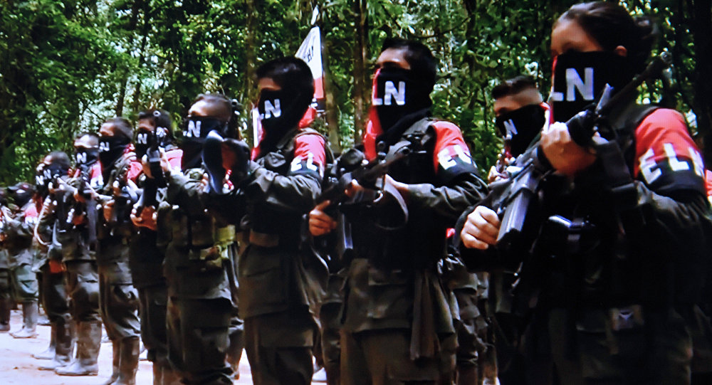 Combatentes do ELN (foto de arquivo)