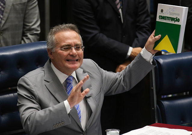 Presidente do Senado Federal Renan Calheiros