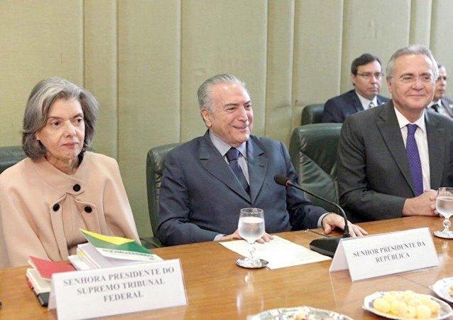 Chefes dos Três Poderes se reúnem para discutir pacto nacional para segurança