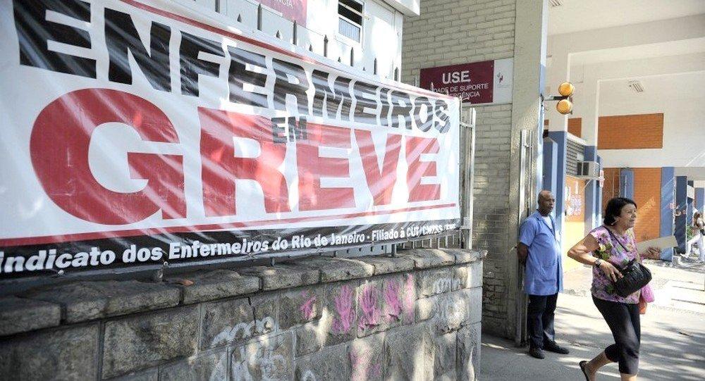 Crise nos Hospitais do Rio