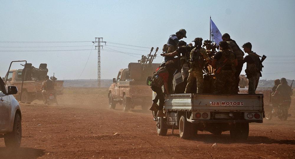 Combatentes do Exército Livre da Síria