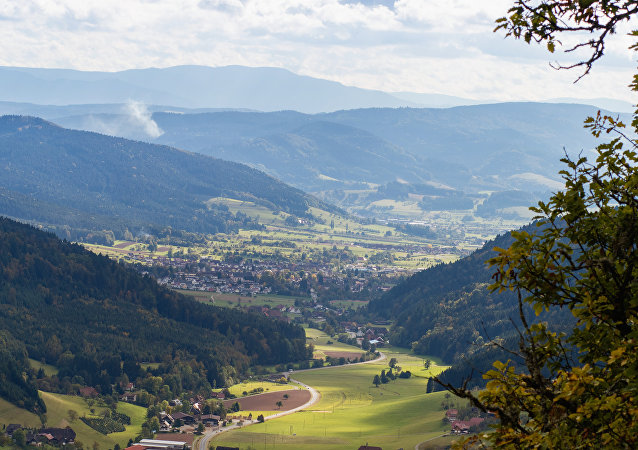Cidade alemã Zell am Harmersbach