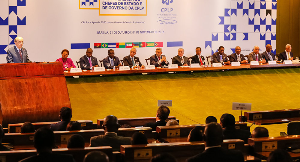 Encerramento da conferência da Comunidade de Países de Língua Portuguesa