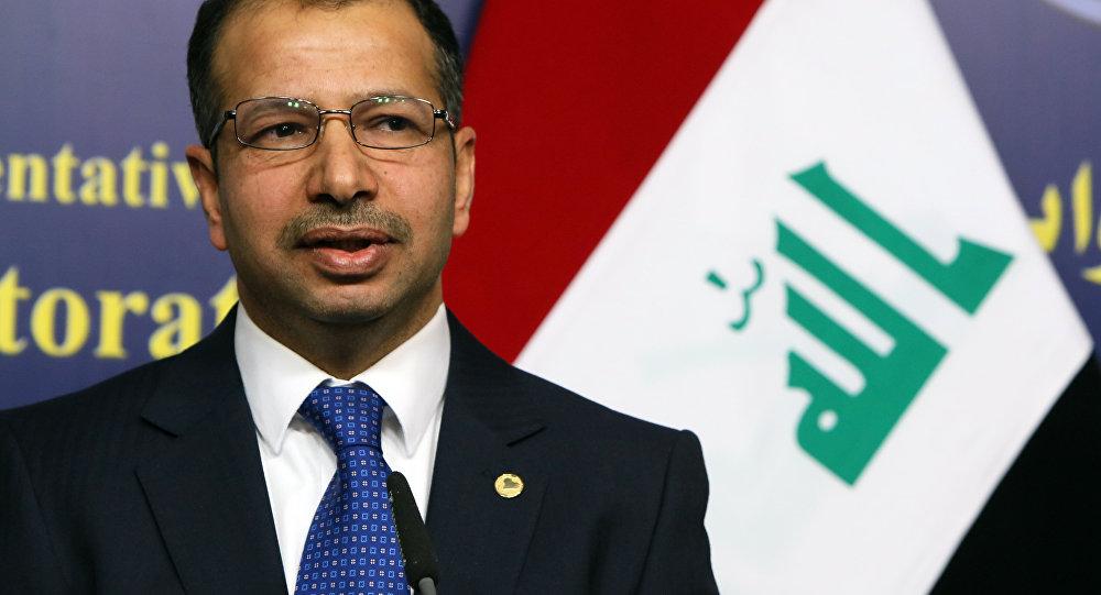 Salim al-Jabouri, presidente do Conselho de Representantes do Iraque