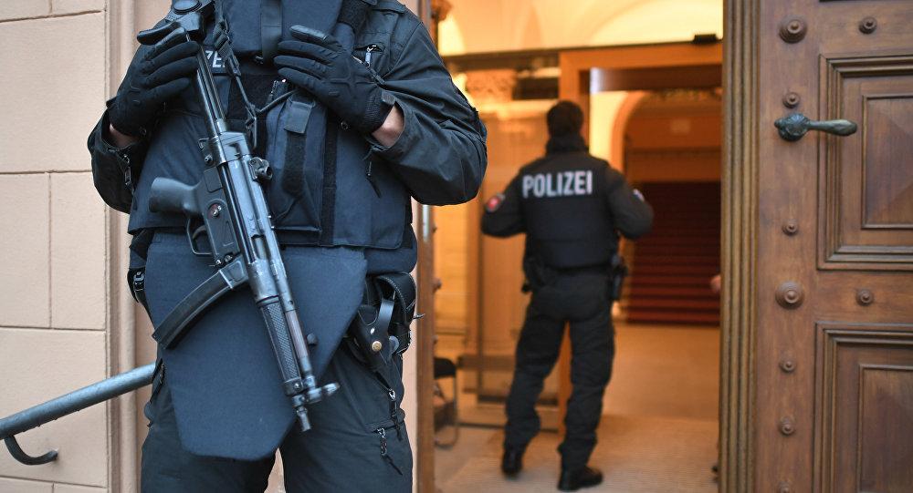 Policiais alemães
