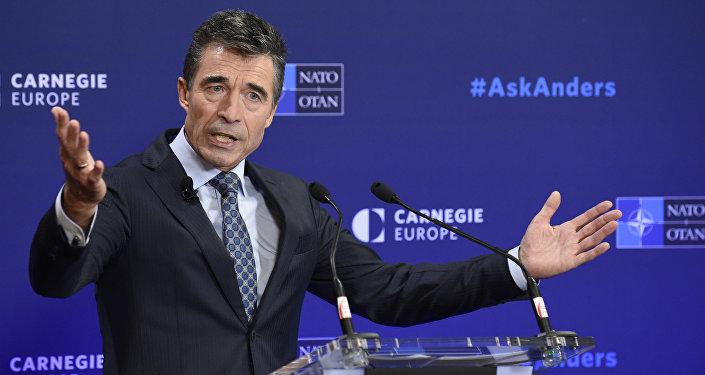 Ex-secretário-geral da OTAN Anders Fogh Rasmussen