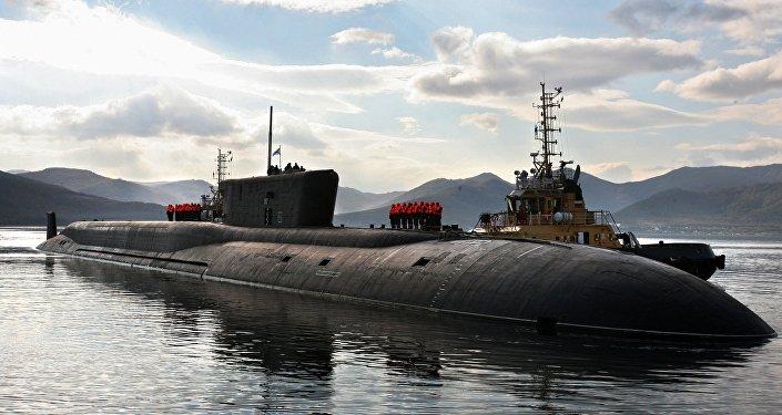 submarino em Kamchatka