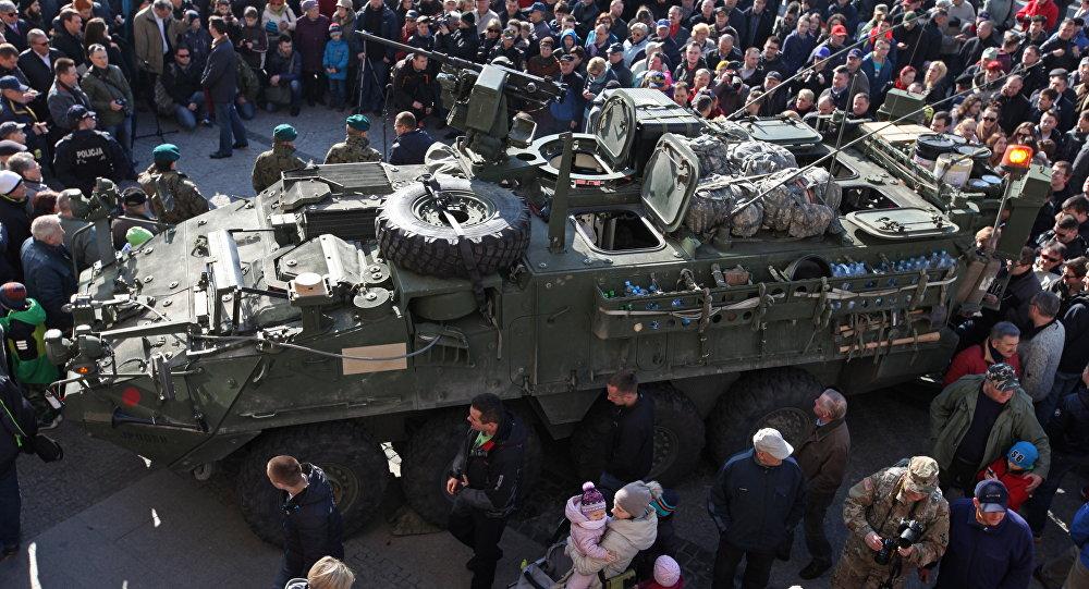 Militares dos EUA na Polônia