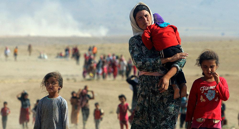 Yezidis libertados (arquivo)