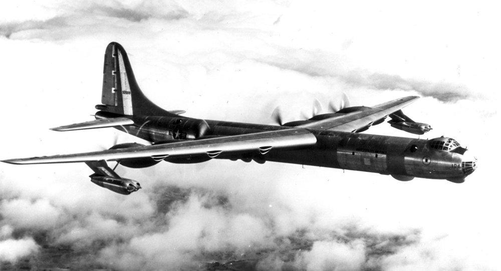 Bombardeiro estratégico dos EUA Convair B-36