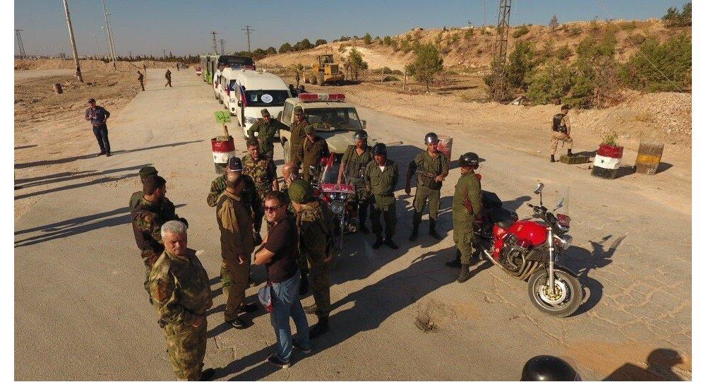 Corredor humanitário em Aleppo