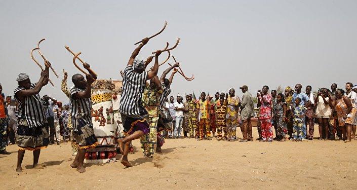 Ritual vudu em Ouidah, Benim
