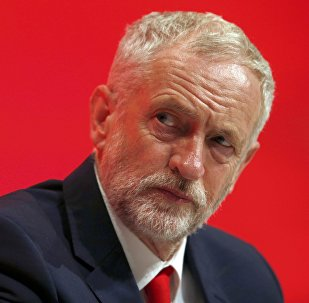 Opositor britânico Jeremy Corbyn, líder do Partido Trabalhista