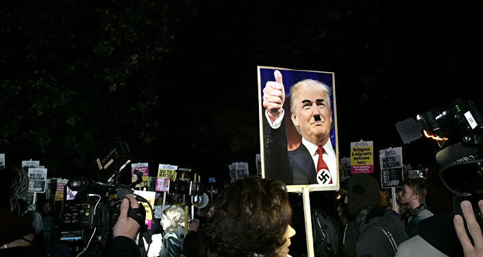 Protestos anti-Trump e antirracismo em Londres