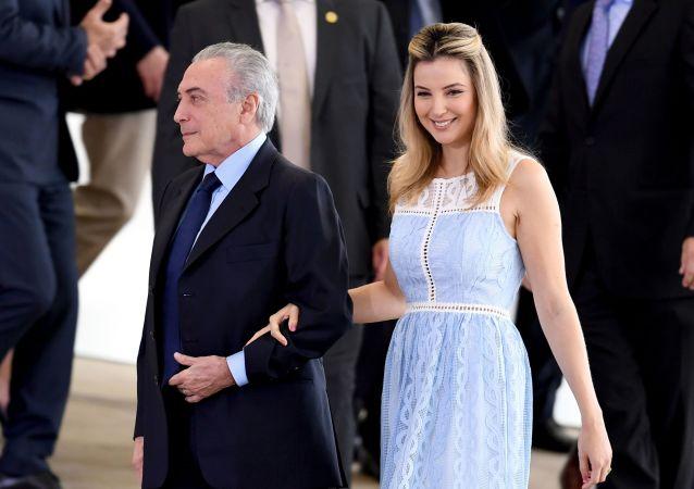 Primeira-dama brasileira Marcela Temer