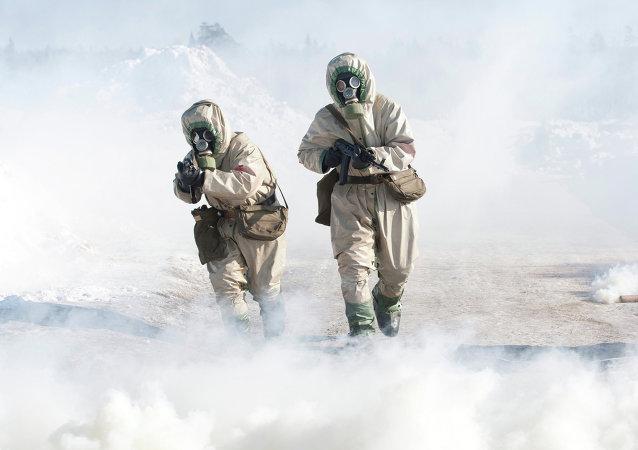 Tropas de Defesa Radiológica, Química e Biológica (foto de arquivo)
