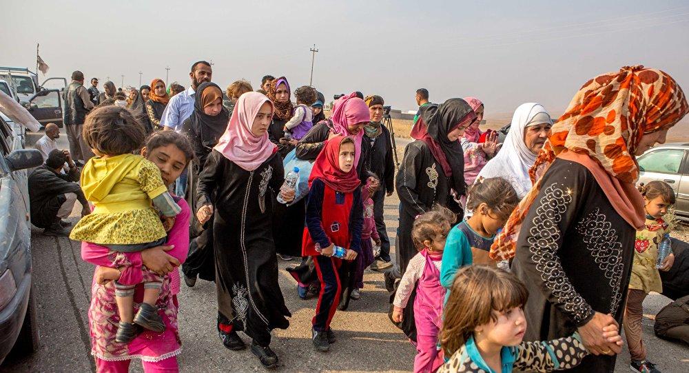Shabaks curdos abandonam cidades e aldeias perto de Mossul