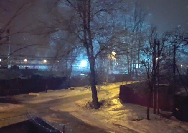 Natal está chegando à região de Moscou