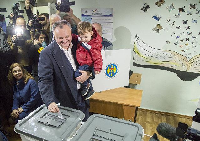 O segundo turno das eleições presidenciais na Moldávia