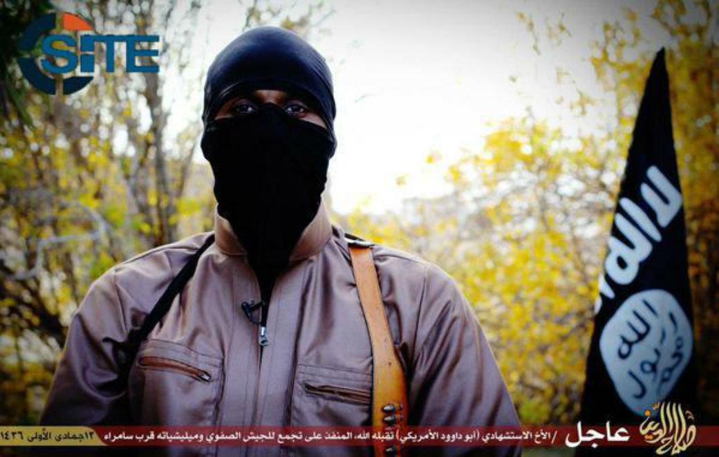 Um cidadão norte-americano que virou homem-bomba em um grupo terrorista