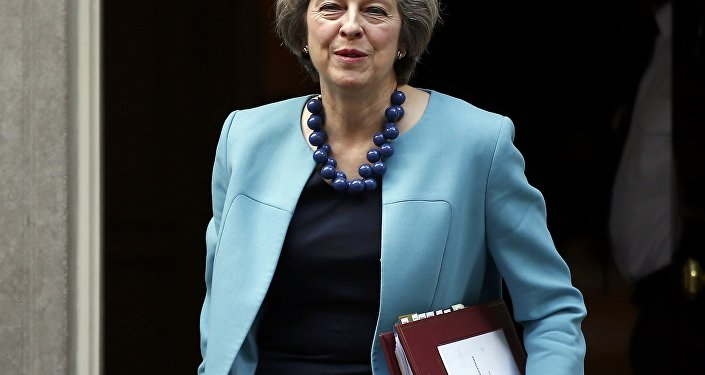 Primeira-ministra da Grã-Bretanha, Theresa May