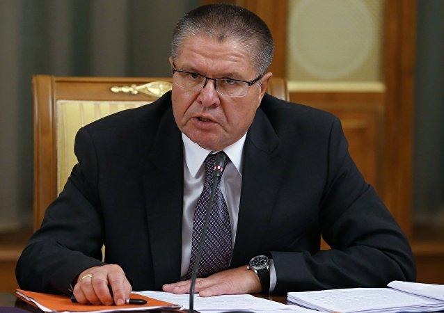 Aleksei Ulyukaev, ministro da Economia da Rússia