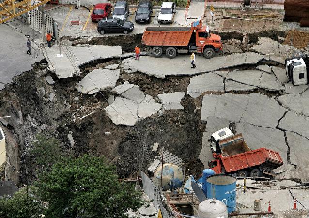 Tragédia na obra de construção da linha 4 do metrô de São Paulo