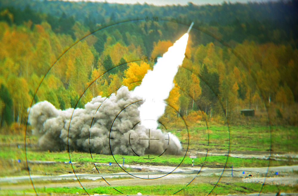 Smerch é um sistema de lançamento múltiplo de foguetes desenvolvido em 1987 e usado até o momento