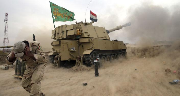 As forças governamentais do Iraque liberaram um terço da zona leste de Mossul, informou a 15 de novembro o general de brigada Saad Maan